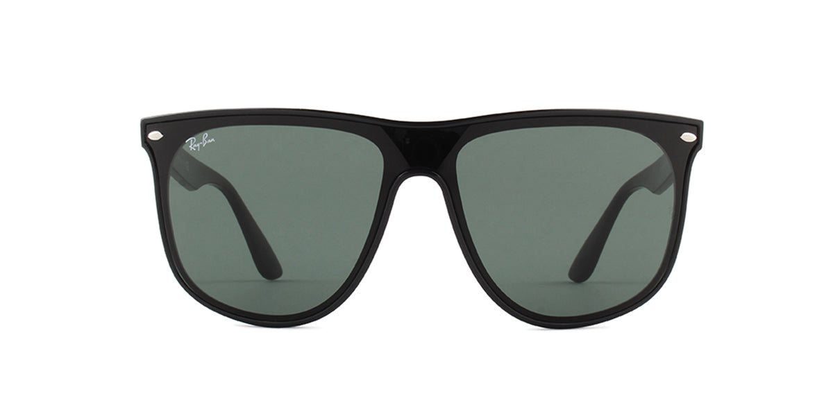 Ray Ban - RB4447N Black/Green Square Unisex Sunglasses - 40mm