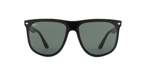 Ray-Ban RB4447N Black / Green Lens Sunglasses