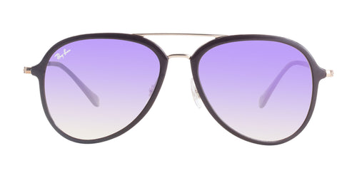 Ray Ban - RB4298 Brown Aviator Unisex Sunglasses - 57mm