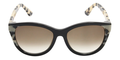 Thierry Lasry - Flattery Black Oval Women Sunglasses - 55mm