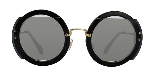 Miu Miu MU06SS Black / Gray Lens Sunglasses