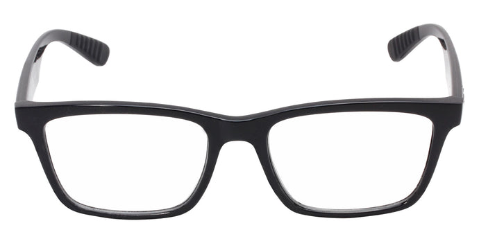 Ray Ban Rx - RX7025 Black Rectangular Men, Women Eyeglasses - 55mm