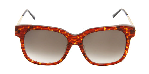 Thierry Lasry - Rapsody Tortoise Rectangular Men, Women Sunglasses - 57mm