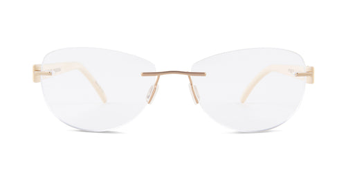 Porsche Design P8209 Gold / Clear Lens Eyeglasses
