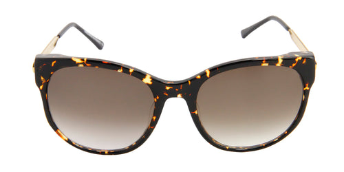 Thierry Lasry - Axxxexxxy Tortoise Oval Women Sunglasses - 56mm