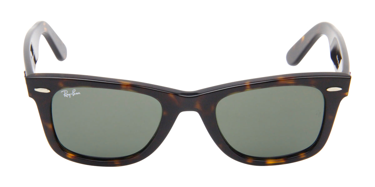 Ray Ban - Original Wayfarer Tortoise/Green Unisex Sunglasses - 50mm