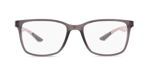 Ray-Ban Rx RX8905 Gray / Clear Lens Eyeglasses