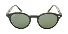 Ray Ban - RB2180 Black/Black Oval Women Sunglasses - 51mm