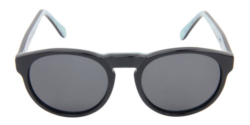 Retrosuperfuture - Paloma Black Oval Women Sunglasses - 48mm