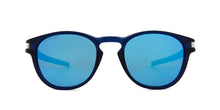 Oakley - Latch Blue/Blue Oval Unisex Sunglasses - 53mm