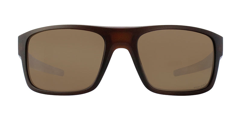 Oakley - Drop Point Brown/Brown Rectangular Men Polarized Sunglasses - 61mm