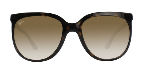 Ray Ban - Cats 1000 Tortoise/Brown Gradient Oval Unisex Sunglasses - 57mm