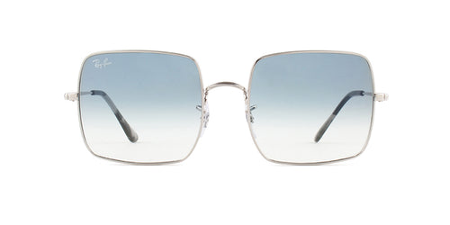 Ray Ban - RB1971 Silver/Blue Gradient Square Unisex Sunglasses - 54mm
