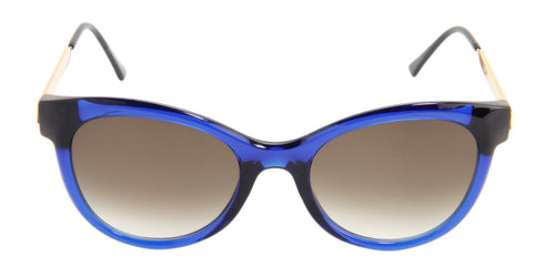 Thierry Lasry - Flirty Blue Oval Women Sunglasses - 53mm