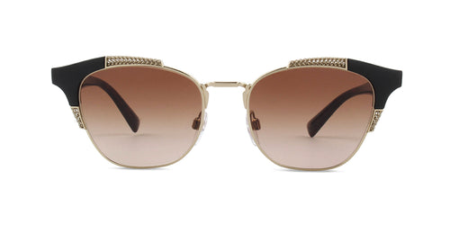 Valentino VA4027 Black / Brown Lens Sunglasses