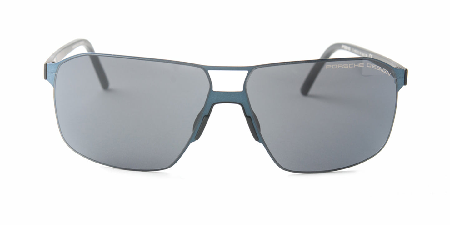 Porsche Design - P8645 Blue Rectangular Men Sunglasses - 60mm