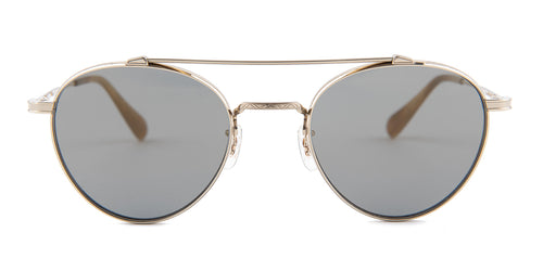 Oliver Peoples Watts Sun Gold / Gray Lens Sunglasses
