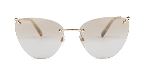 Valentino 0VA2022 Gold / Mirror Light Gold Gradient Lens Sunglasses