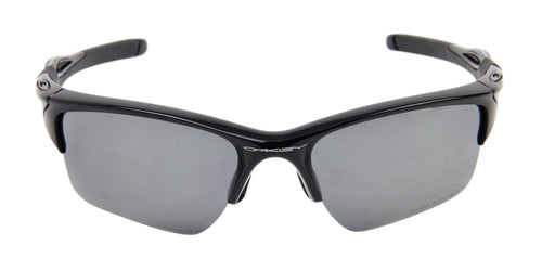 Oakley - Half Jacket Black/Gray Rectangular Unisex Sunglasses - 62mm