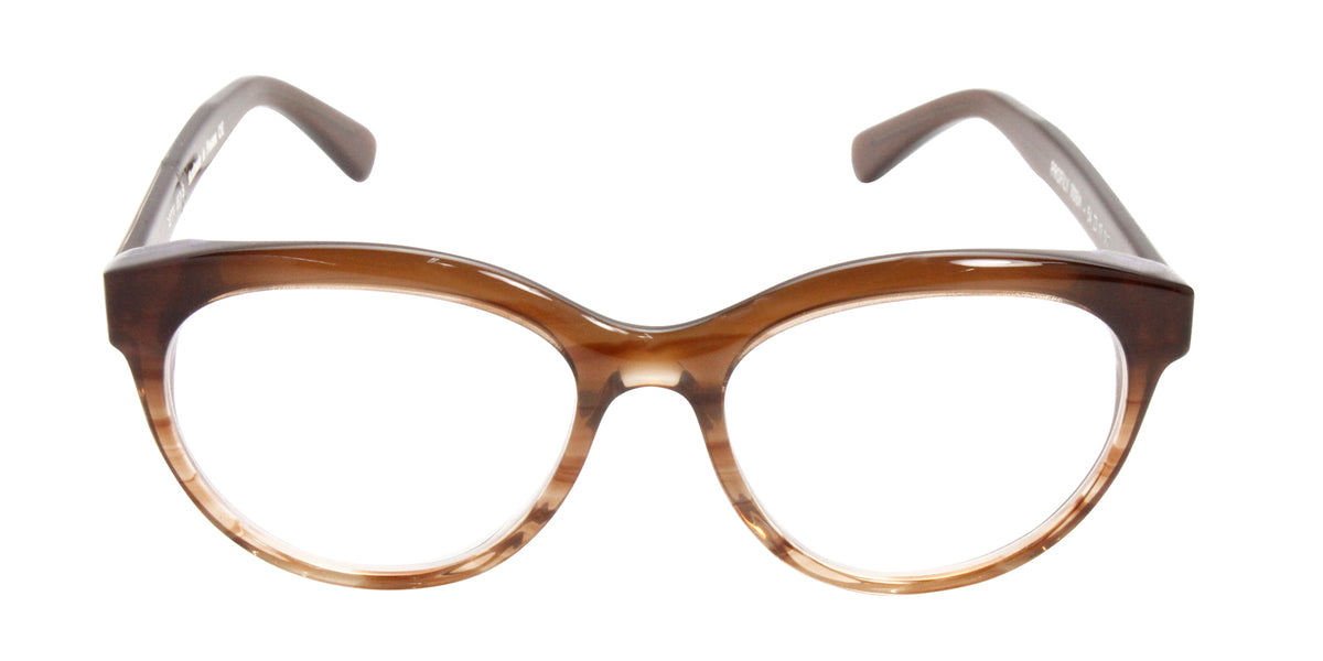 Thierry Lasry - Profily Brown Oval Women Eyeglasses - 54mm