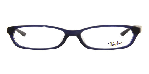 Ray Ban Rx - RX5291-D Blue Rectangular Unisex Eyeglasses - 55mm