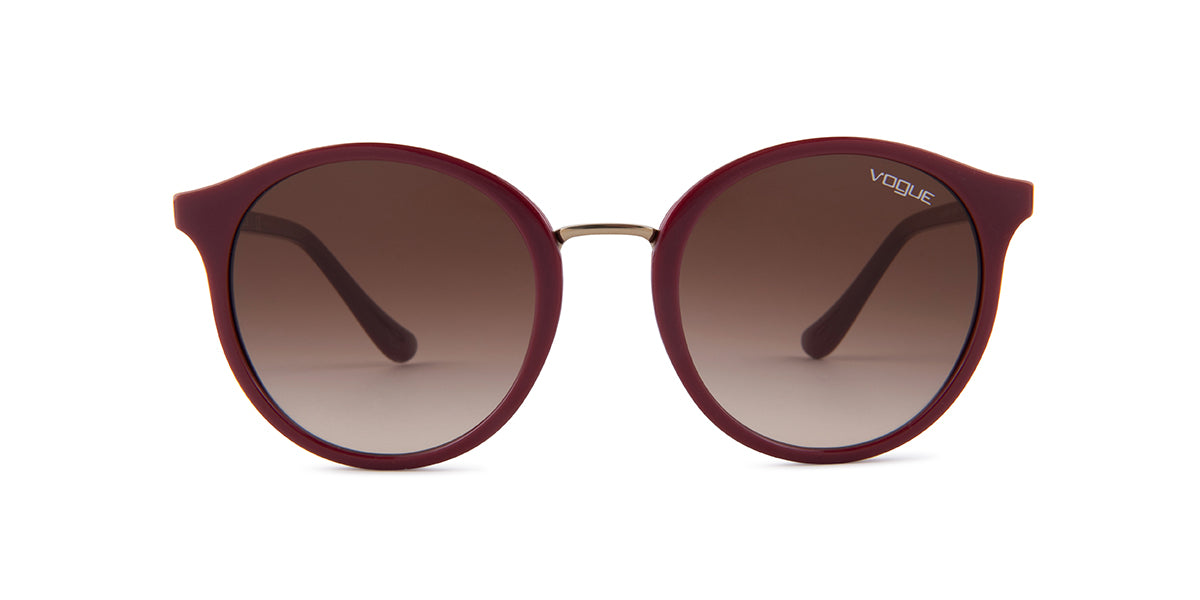 Vogue VO5166S Plum / Brown Lens Sunglasses