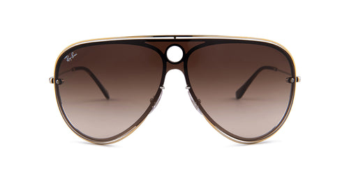 Ray Ban - RB3605N Gold/Brown Gradient Aviator Unisex Sunglasses - 32mm