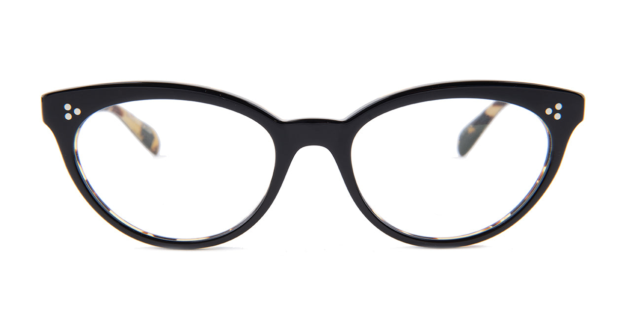 ab4d4508491 Oliver Peoples Arella Black   Clear Lens Eyeglasses – shadesdaddy