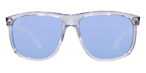 Ray Ban RB4147 Clear / Blue Lens Mirror Sunglasses