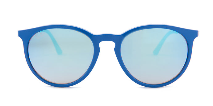 Ray Ban - RB4274 Blue/Blue Mirror Oval Unisex Sunglasses - 53mm