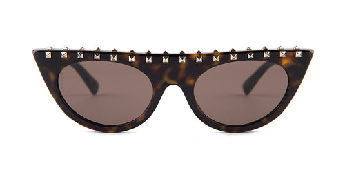 Valentino VA4018 Havana / Brown Lens Sunglasses