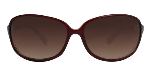 Oliver Peoples BB Red / Brown Lens Sunglasses