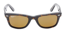 Ray Ban - Original Wayfarer Tortoise/Brown Polarized Unisex Sunglasses - 50mm