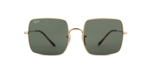 Ray Ban - RB1971 Gold/Green Square Unisex Sunglasses - 54mm