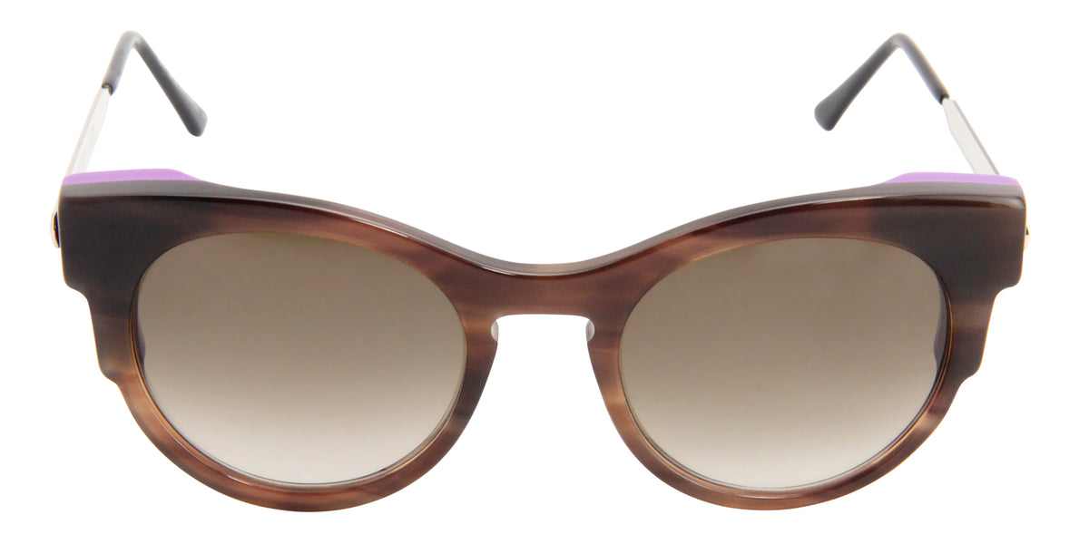 Thierry Lasry - Virginity Brown Oval Women Sunglasses - 52mm