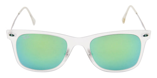 327755b40d Ray Ban Men s RB4210 Clear   Green Lens Sunglasses