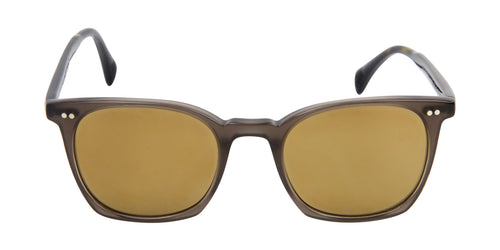 Oliver Peoples L.A. Coen Black / Green Lens Sunglasses