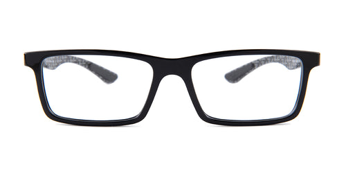 Ray-Ban Rx RX8901 Black / Clear Lens Eyeglasses