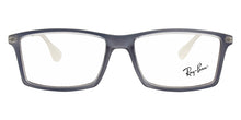 Ray Ban Rx - Matthew Blue Rectangular Unisex Eyeglasses - 52mm
