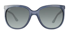 Ray Ban - CATS 1000 Blue/Green Gradient Oval Women Sunglasses - 57mm