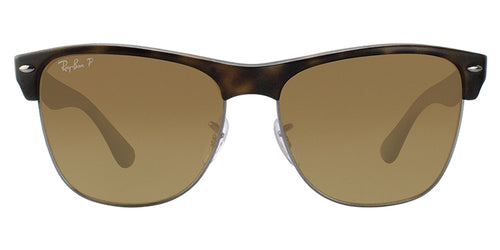 Ray Ban - RB4175 Tortoise/Brown Gradient Polarized Rectangular Unisex Sunglasses - 57mm
