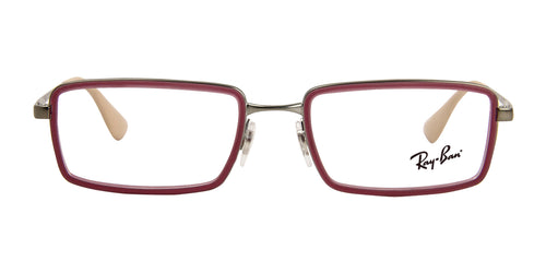 Ray Ban RX6337 Purple / Clear Lens Eyeglasses
