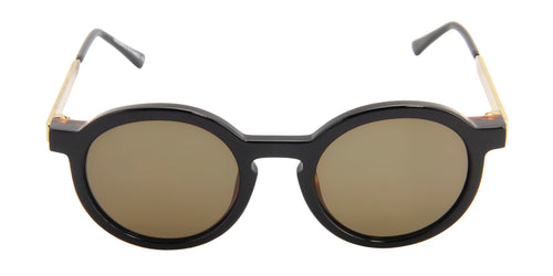 Thierry Lasry - Sobriety Black Oval Women Sunglasses - 47mm