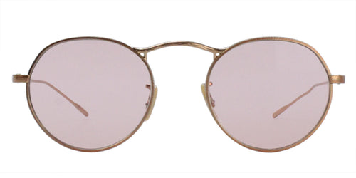 Oliver Peoples M-4 30th Rose Gold / Pink Lens Sunglasses