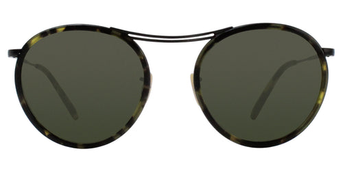 Oliver Peoples MP-30TH Black / Green Lens Sunglasses