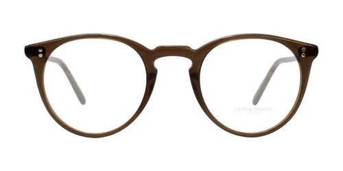 Oliver Peoples O'malley Brown / Clear Lens Eyeglasses