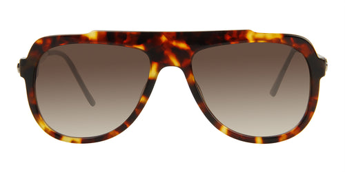 Thierry Lasry Majesty Tortoise / Brown Lens Sunglasses