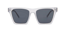 Quay Australia - Alright White Square Women Sunglasses - mm