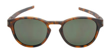 Oakley - Latch Tortoise/Green Oval Unisex Sunglasses - 53mm