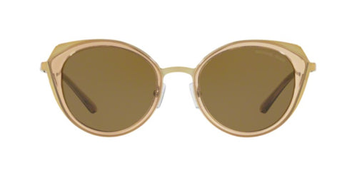 932efd107fb Michael Kors Charleston Gold   Olive Lens Solid Polarized Sunglasses